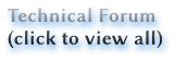 Technical Forum (click to view all)